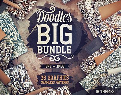Big Doodle Patterns Bundle