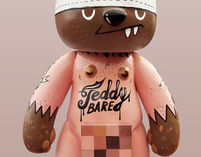 'Teddy Bare' Vinyl Toy