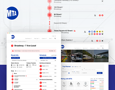 NYC MTA Web Redesign