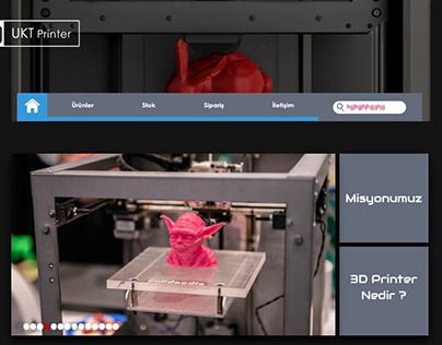 UKT Printer Website