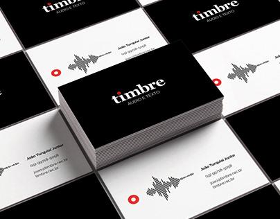 Timbre | Logo & Landingpage