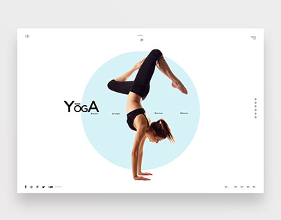 Yoga Studio Concept Design Web Template