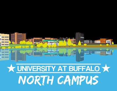 University at Buffalo North Campus Snapchat Geofilter