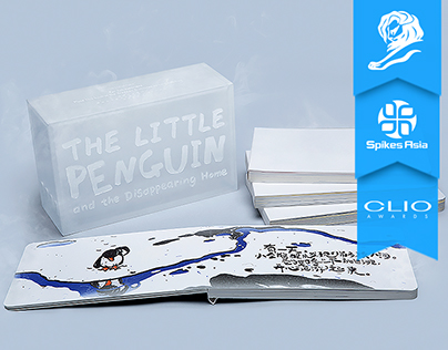 The frozen book by penguin