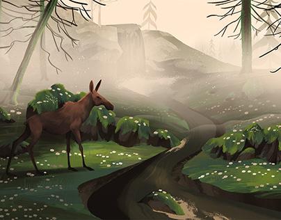 National Day of Sweden - Moose Woods