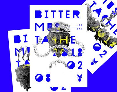 Bitter Mustache / Ipa Day Branding