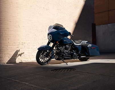 Harley-Davidson P&A Fall Photography