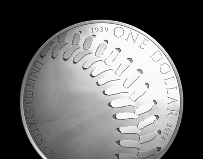 US Mint 2013 Baseball Coin Competition Design Entry