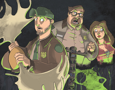 MOOSE the Movie & Graphic Novel Illustrations