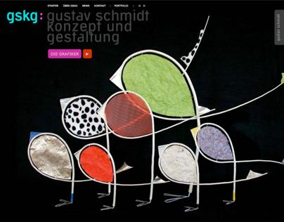 Gskg Gustav Schmidt Design Homepage On Behance