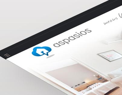 """Newsletter """"aspasios"""", graphic design"""