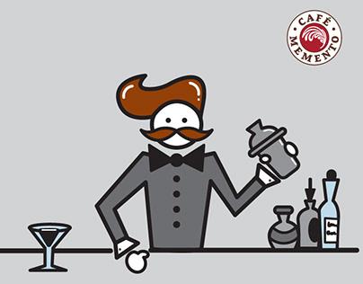 Animated Social Media Post / Bartender