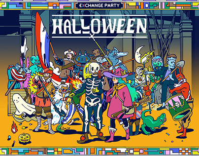 Halloween Exchange Party