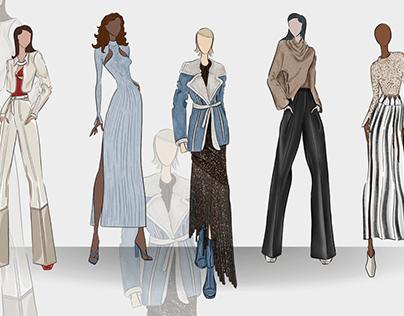 Brand Analysis & Design Collection for Jonathan Simkhai