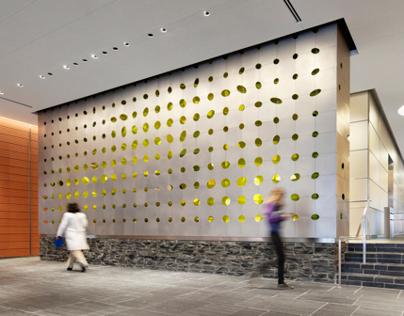 MSK Lobby Wall