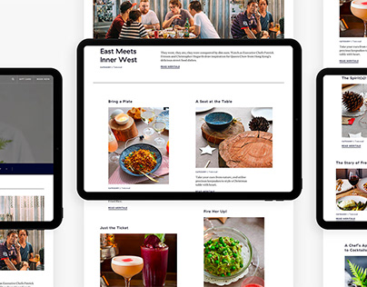 Merivale's website