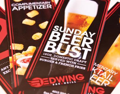 Redwing Bar & Grill Branding