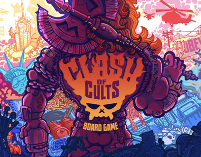 Clash of Cults - An 80's Movie Themed Board Game