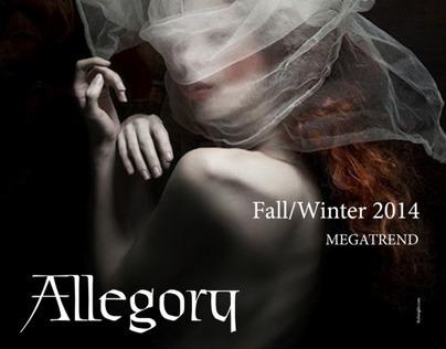 Stylesight's Allegory Megatrend: Magazine Grid Layout
