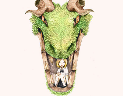 Girl in The Dragon