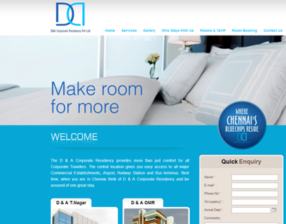 D&A Corporate Residency Pvt Ltd
