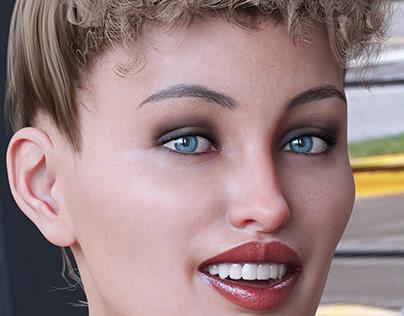 Portrait 3D Rendering