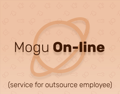 Web-site design (Mogu On-line)
