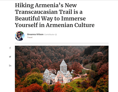 Armenia's Transcaucasian Trail