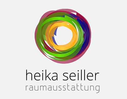 Heika Seiller - Logotype solution & Website design