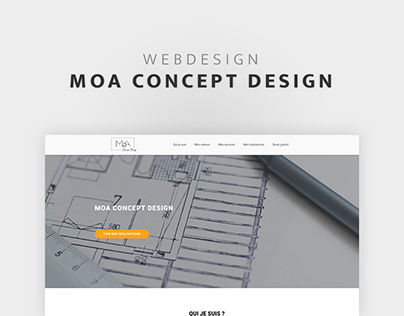 Moa Concept Design - Site web