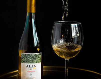 Wine photography without budget