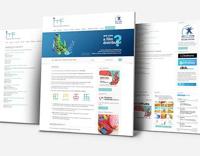 International Motion Festival Cyprus - Website Design