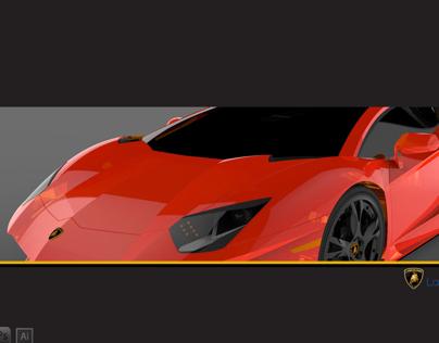 Alias modeling Aventador