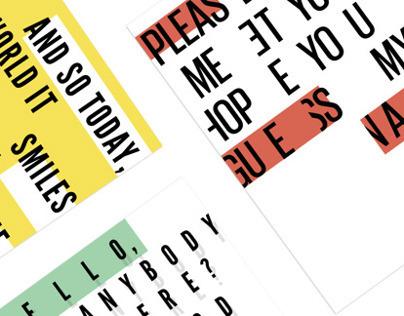 SPICERS - Postcard Series