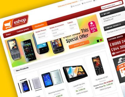 EShop Chennai - E commerce Web Development