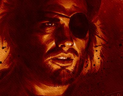 "S.D. Bob ""Snake"" Plissken Portrait"