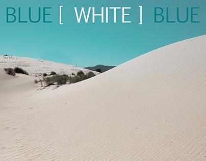 blue [white] blue
