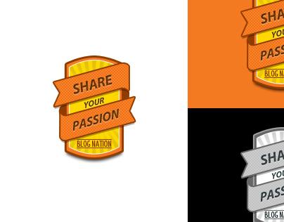 Blog Nation - Badge Designing