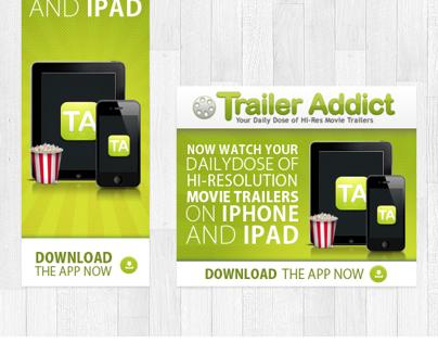 Trailer Adict - Ad Banner