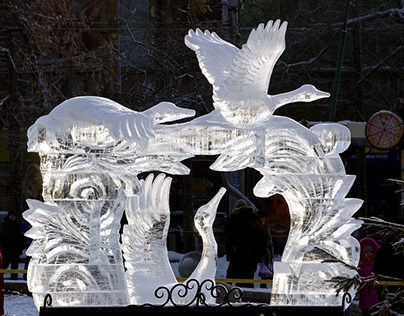 The Art of Ice Sculpting