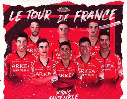 Tour de France 2020   Arkéa Samsic