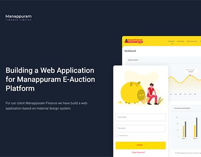 E-Auction web application