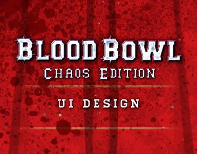 Blood Bowl UI Design