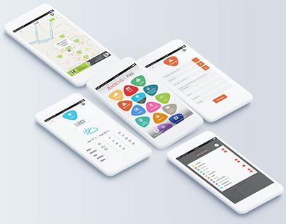 City App - Customizable Mobile App - UI/UX Design