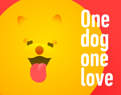 One dog one love