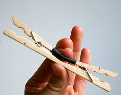 Double-Clothespin