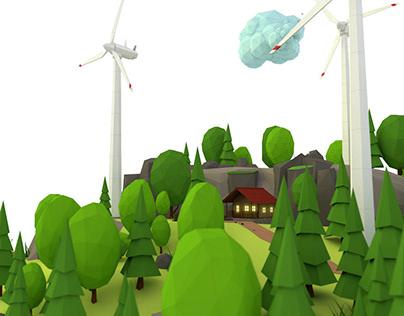 Wind power plant No. III