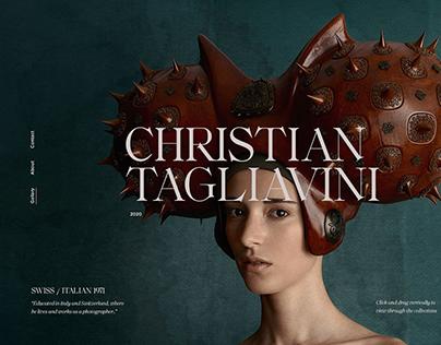Christian Tagliavini Portfolio