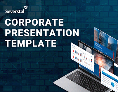 Corporate presentation template for Severstal