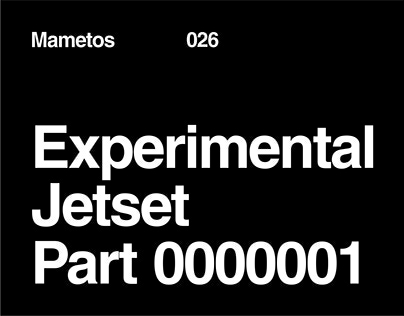 Experimental Jetset Part 1